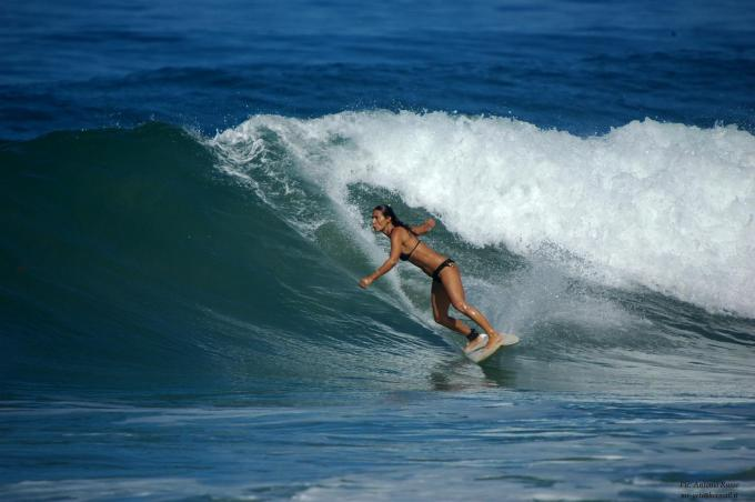 Surfing in Guanacaste