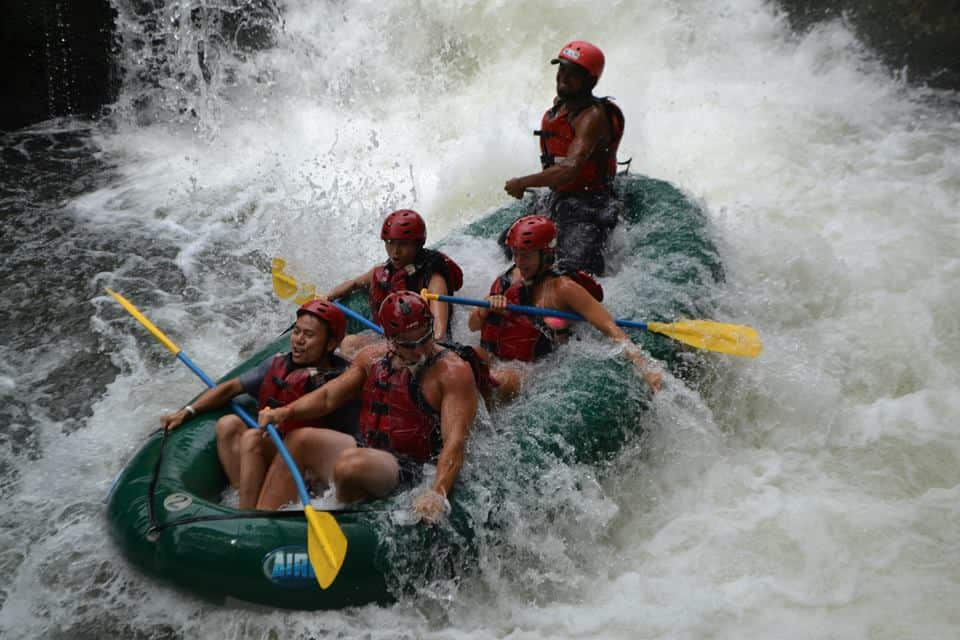 White-water rafting Costa Rica